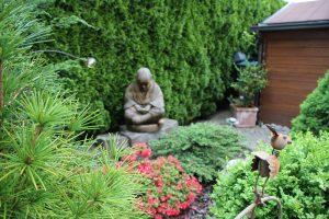 Budda im Garten